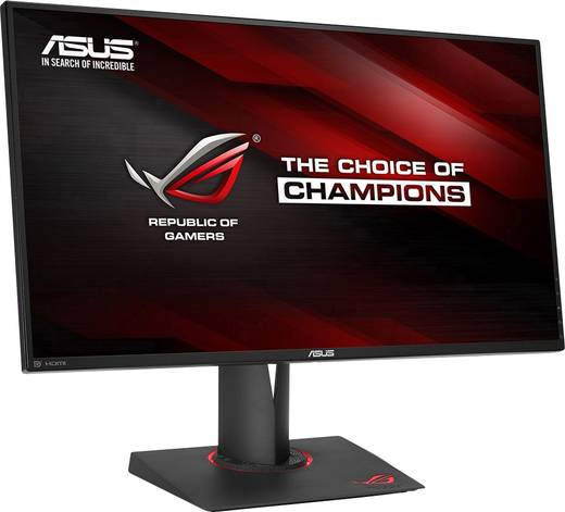 Asus PG279Q LED-Monitor 68.6 cm (27 Zoll) EEK B 2560 x 1440 Pixel WQHD 4 ms DisplayPort, HDMI™ IPS LED