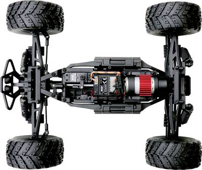Reely Core Brushed 1:10 XS RC Modellauto Elektro Monstertruck Allradantrieb RtR 2,4 GHz