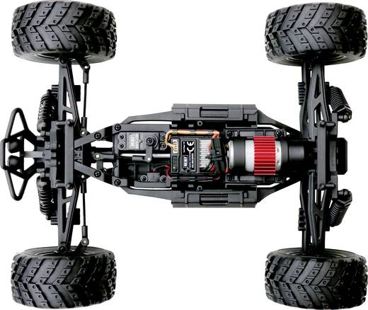 Reely Core Brushed 1:10 XS RC Modellauto Elektro Monstertruck Allradantrieb RtR 2,4 GHz