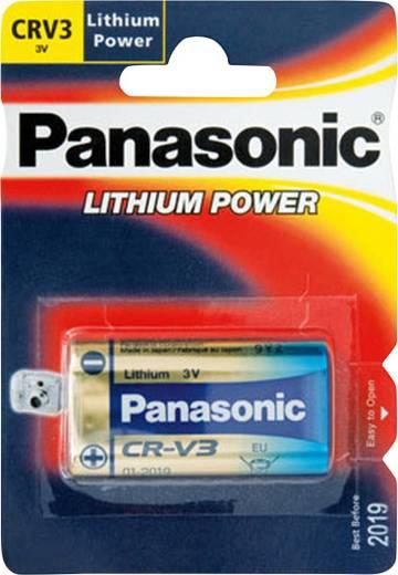 Fotobatterie CR V3 Lithium Panasonic CRV3L 3300 mAh 3 V 1 St.