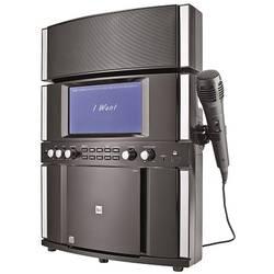 Karaoke systém s textovým displejom a mikrofónom Dual DK 200, CD/MP3, USB