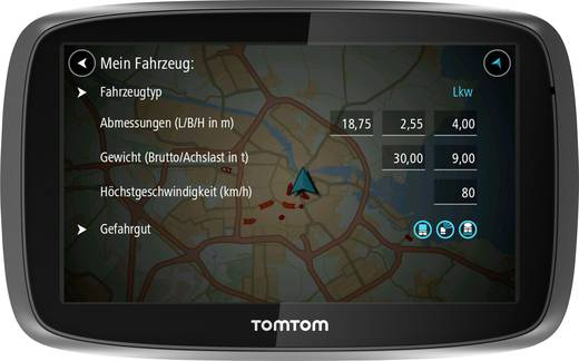 tomtom trucker 6000 lkw navi 15 cm 6 zoll europa. Black Bedroom Furniture Sets. Home Design Ideas