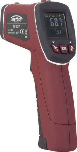 Infračervený teploměr Testboy TV 327, -50 až +760 °C, bezdotykové IR měření, kontaktní měření