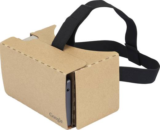 basetech headmount google 3d vr braun virtual reality brille google cardboard. Black Bedroom Furniture Sets. Home Design Ideas