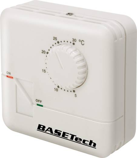 Basetech MH-555C Raumthermostat Aufbau Tagesprogramm 5 bis 30 °C
