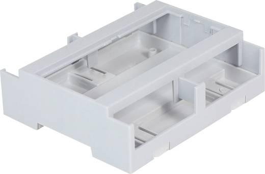 Hutschienen-Gehäuse 106.2 x 100 x 31.9 Polycarbonat Grau Axxatronic CDIB/6/L2-KIT-CON 1 St.