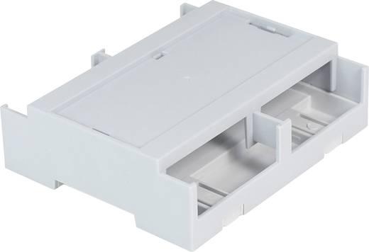 Hutschienen-Gehäuse Deckel Grau 106.2 x 100 x 31.9 Polycarbonat Grau Axxatronic CDIB/6ST/L2-KIT-CON 1 St.