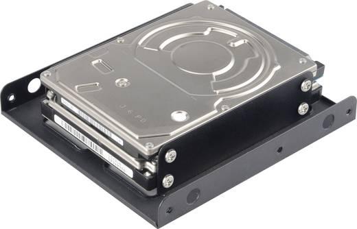3.5 Zoll (8.89 cm) Festplatten-Einbaurahmen HDD/SSD Renkforce AK-HDA-03M1B Anzahl Festplatten (max.): 2 x 2.5 Zoll