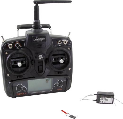 Walkera Devo 7 Hand-Fernsteuerung 2,4 GHz Anzahl Kanäle: 7 inkl. Empfänger