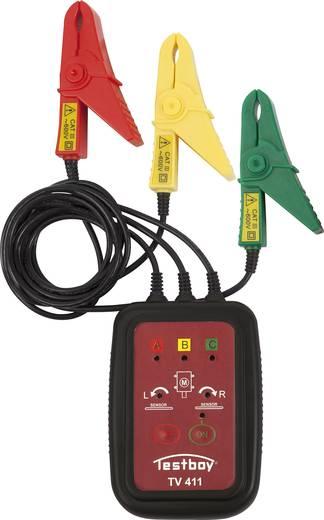 Testboy TV 411 Drehfeldmessgerät CAT III 600 V LED Werksstandard (ohne Zertifikat)