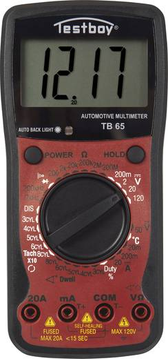 Testboy TB 65 Hand-Multimeter digital Anzeige (Counts): 1999