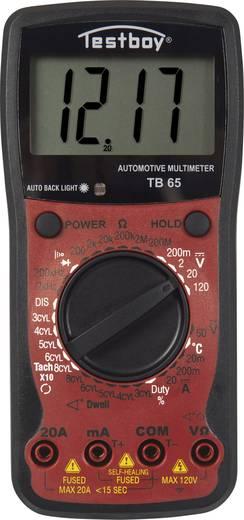 Testboy TB 65 Hand-Multimeter digital Kalibriert nach: Werksstandard (ohne Zertifikat) Anzeige (Counts): 1999