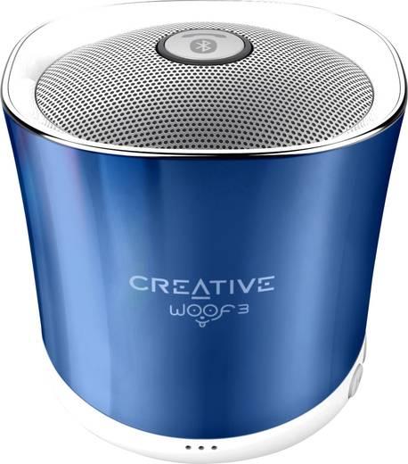 Bluetooth® Lautsprecher Creative Woof 3 Freisprechfunktion, SD Blau