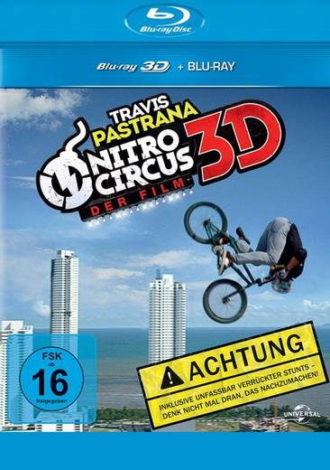 blu-ray 3D Nitro Circus The Movie 3D + 2D FSK: 16