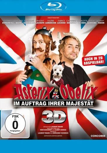 blu-ray 3D Asterix & Obelix Im Auftrag Ihrer Majestät Blu-ray 3D + 2D FSK: 0