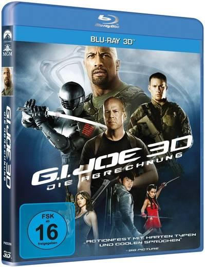 blu-ray 3D G.I. Joe 3D Die Abrechnung Blu-ray 3D FSK: 16