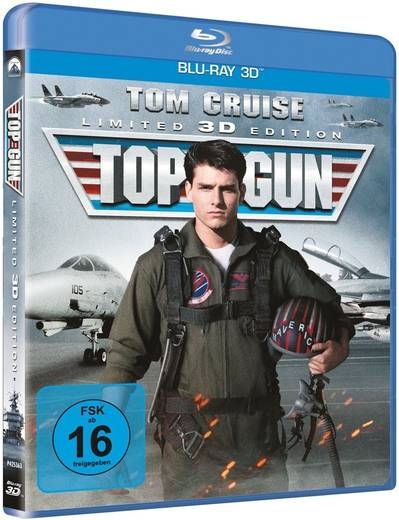 blu-ray 3D Top Gun Blu-ray 3D FSK: 16