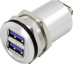 Prolongateur USB 3.0 2 x USB A femelle vers 2 x USB A femelle TRU COMPONENTS USB-14 1408768 1 pc(s)