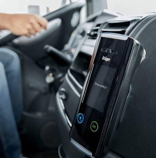 Dräger Interlock 5000 Atemalkoholgesteuerte Wegfahrsperre Grau 0 bis 5 ‰ inkl. Display