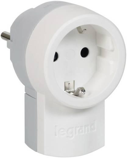 Legrand 050462 Zwischenstecker Kunststoff 230 V Weiß, Grau IP20