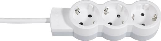 Legrand 695001 Steckdosenleiste ohne Schalter 3fach Weiß, Grau Schutzkontakt