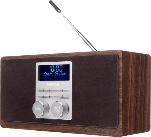 dab tischradio medion dab radio mit bluetooth funktion. Black Bedroom Furniture Sets. Home Design Ideas