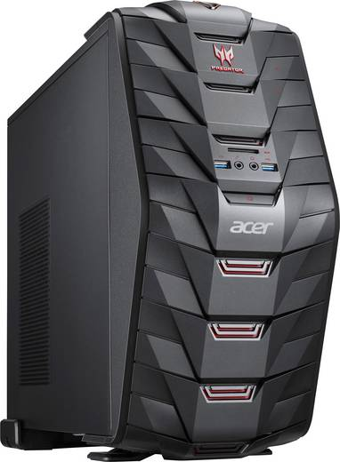 gaming pc acer predator g3 710 intel core i5 i5 6400 8 gb. Black Bedroom Furniture Sets. Home Design Ideas
