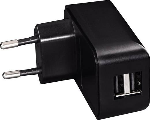 USB-Ladegerät Hama 14198 00014198 Steckdose Ausgangsstrom (max.) 2100 mA 2 x USB