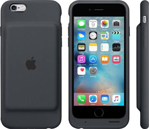 apple smart battery case iphone backcover passend f r apple iphone 6s schwarz kaufen. Black Bedroom Furniture Sets. Home Design Ideas