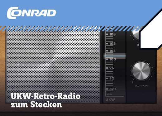 Retro-Radio Conrad Components UKW-Radio zum Stecken 10196