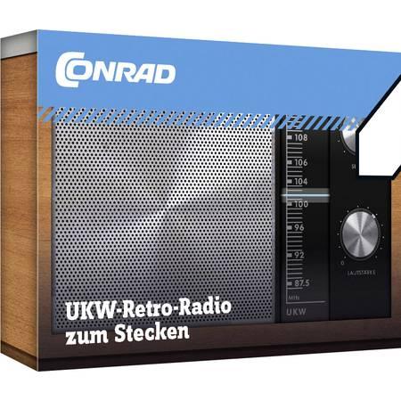 Conrad Components - UKW-Radio zum Stecken Retro-Radio »