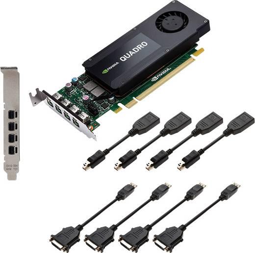 Workstation-Grafikkarte PNY Nvidia Quadro K1200 4 GB GDDR5-RAM PCIe x16 Mini DisplayPort
