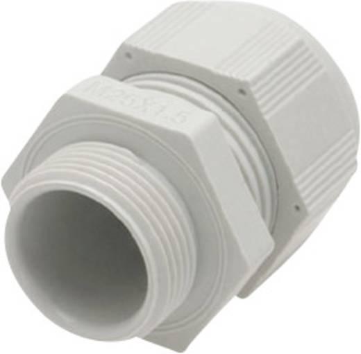 Kabelverschraubung mit reduziertem Dichteinsatz, mit Vibrationsschutz M32 Polyamid Licht-Grau (RAL 7035) Helukabel HT-R