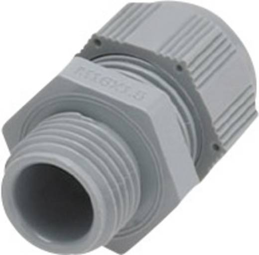 Helukabel HT-R 903549 Kabelverschraubung mit reduziertem Dichteinsatz, mit Vibrationsschutz M63 Polyamid Silber-Grau (R
