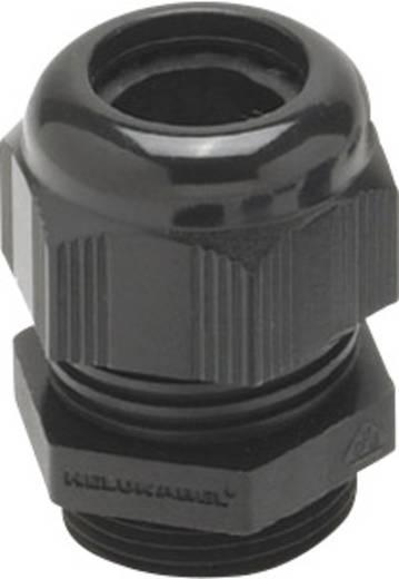 Kabelverschraubung mit reduziertem Dichteinsatz, mit Vibrationsschutz M12 Polyamid Schwarz (RAL 9005) Helukabel HT-R 90