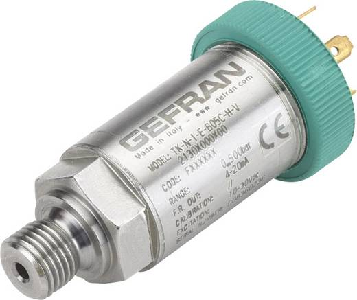 Gefran Drucksensor 1 St. TK-E-1-Z-B01D-M-V 0 bar bis 10 bar M12, 4 polig (Ø x L) 26.5 mm x 84 mm