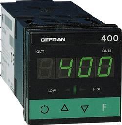 Termostat Gefran 400-RR-1-000, typ senzoru J , K, R , S , T , B , E , N , Pt100, PTC, -55 až 120 °C, relé 5 A