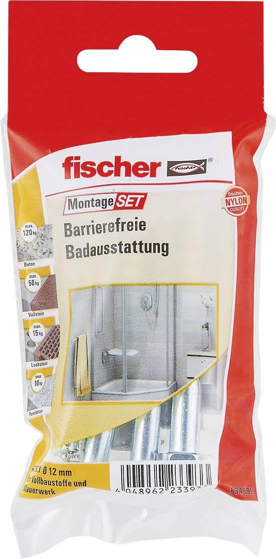 Innovativ Fischer 534595 Montageset Barrierefreie Badausstattung Inhalt 1  BQ22