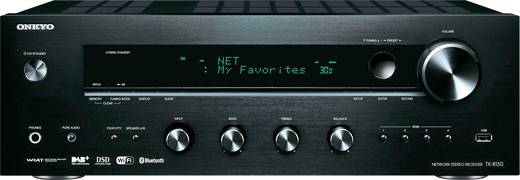 Stereo Receiver Onkyo TX-8150 2x135 W Schwarz AirPlay, Bluetooth®, USB, WLAN