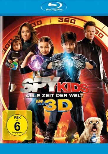 blu-ray 3D Spy Kids Alle Zeit der Welt 3D FSK: 6