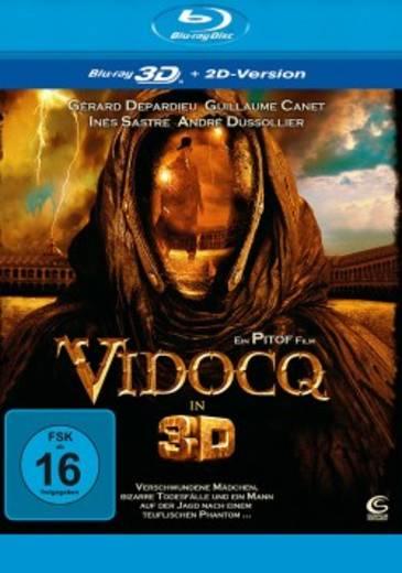 blu-ray 3D Vidocq 3D FSK: 16