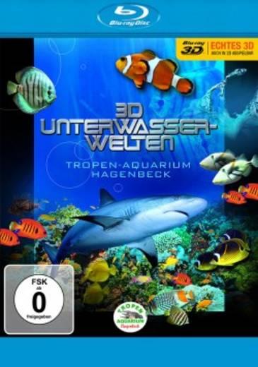 blu-ray 3D 3D Unterwasserwelten Tropen-Aquarium Hagenbeck Blu-ray 3D + 2D FSK: 0