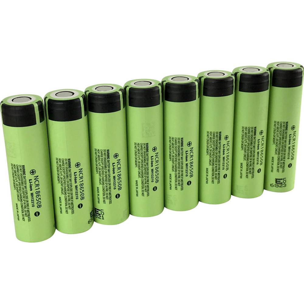 Non Standard Battery Rechargeable 18650 Li Ion Panasonic