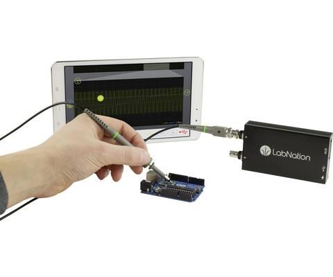 Anwendung eines USB-Oszilloskops