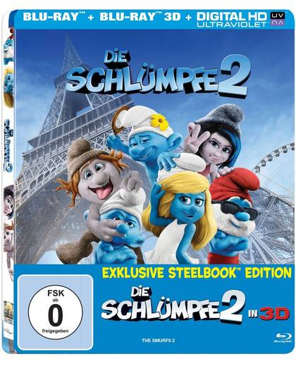 blu-ray Die Schlümpfe 2 (3D Steelbook)