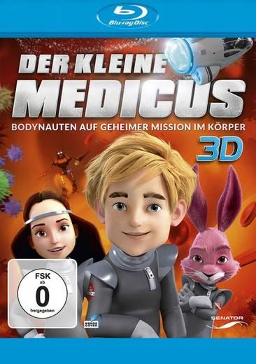 blu-ray 3D Der kleine Medicus Bodynauten auf geheimer Mission im Körper Blu-ray 3D + 2D FSK: 0