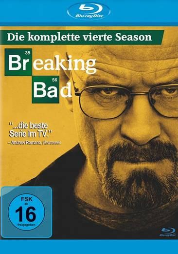 blu-ray Breaking Bad Season 4 FSK: 16