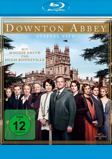 blu-ray Downton Abbey Season 04 FSK: 12