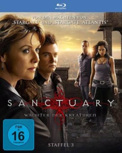 blu-ray Sanctuary Wächter der Kreaturen Season 3 FSK: 16