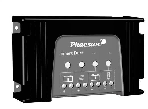 Phaesun Smart Duet 20 Laderegler Serie 12 V, 24 V 20 A